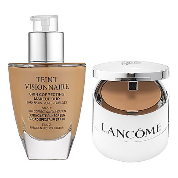 LANCOME teint visionnaire skin correcting makeup duo 210 buff n - A skin correcting foundation plus spot corrector duo...