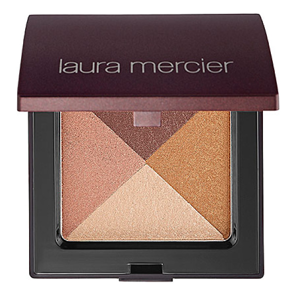 LAURA MERCIER shimmer bloc golden mosaic 0.21 oz/ 6 ml - A whisper-light powder to bring a snap of illuminating...