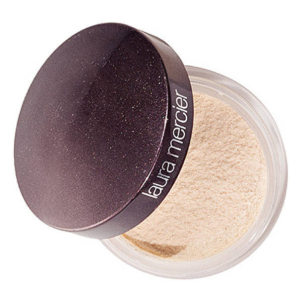 LAURA MERCIER translucent loose setting powder translucent 0.33 oz/ 9 g - A silky, lightweight setting powder with sheer coverage for...