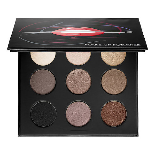 MAKE UP FOR EVER artist palette volume 1 - nudes nudes you need - A collectible, eye shadow palette with nine must-have...