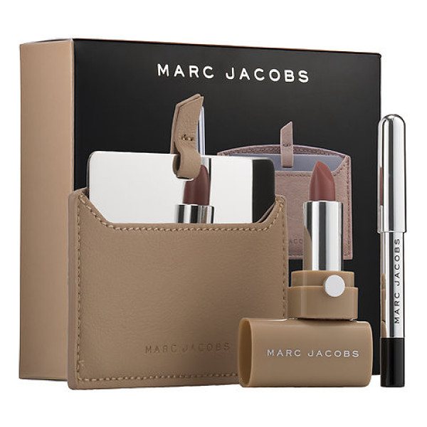 MARC JACOBS BEAUTY the nude ist set - A three-piece collection for eyes and lips, including a...