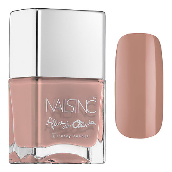 NAILS INC. alice + olivia by stacey bendet nail collection next to nothing - A nail polish collaboration between Alice and Olivia and...