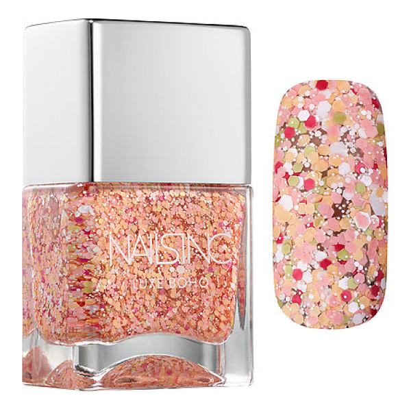 NAILS INC. luxe boho portobello crescent - A soft and creamy blend of nail shades for getting a...