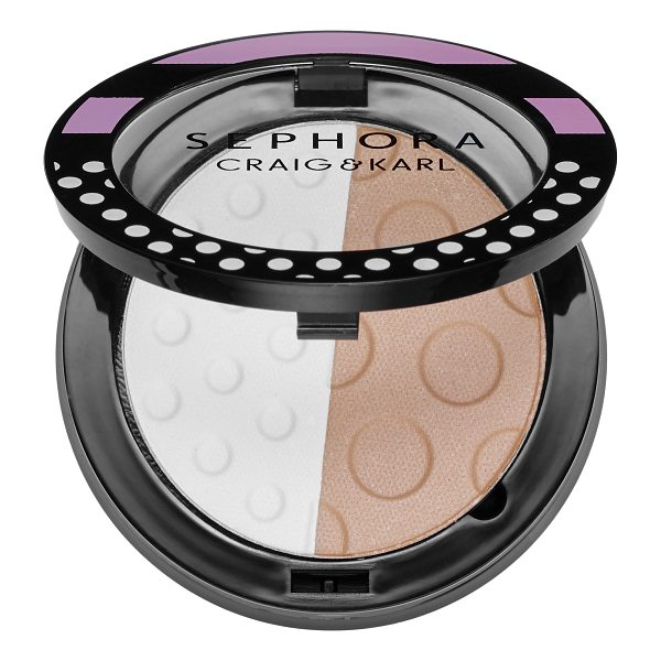 SEPHORA COLLECTION Colorful By Craig & Karl 05 Double Decker - A versatile, color-intense, and long-lasting eyeshadow duo....