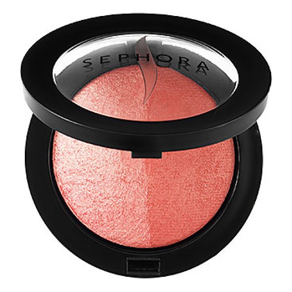 SEPHORA COLLECTION MicroSmooth Baked Blush Duo 03 Guava Glow - A duet of blush formulas in one compact for a variety of...
