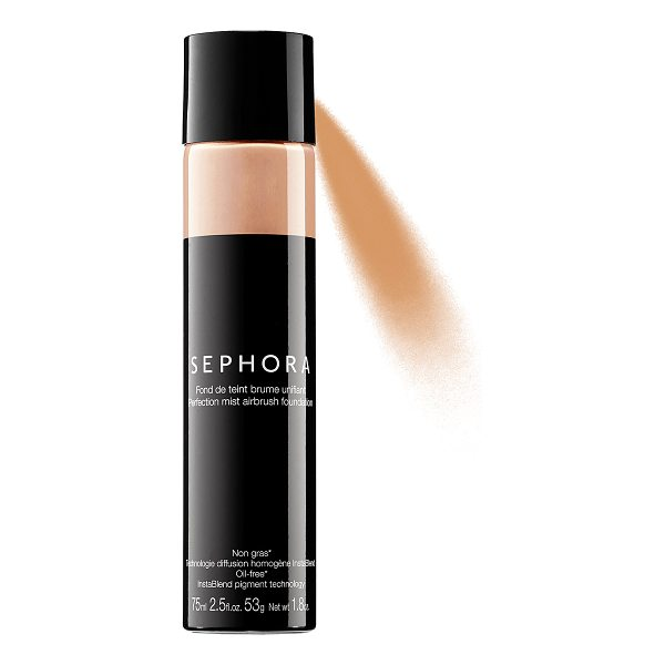 SEPHORA COLLECTION Perfection Mist Airbrush Foundation Tan - An airbrush foundation with an ultrafine mist for flawless...