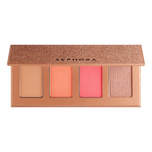 SEPHORA COLLECTION Winter Queen Palette - An all-in-one palette for a beautiful complexion, featuring...