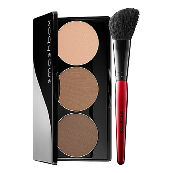 SMASHBOX step-by-step contour kit light/medium 0.40 oz/ 11 g - A cult-favorite, contouring kit that teaches you how to...