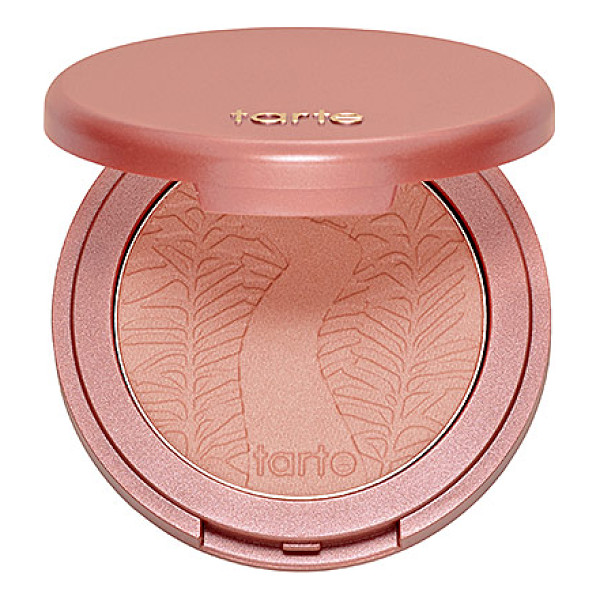 TARTE amazonian clay 12-hour blush exposed 0.2 oz/ 5.6 g - A long-wearing, solar-baked blush that lasts up to 12...