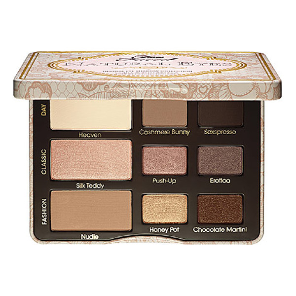 TOO FACED natural eye neutral eye shadow collection 0.39 oz/ 11 g - A small palette packed with nine neutral shades, and a...