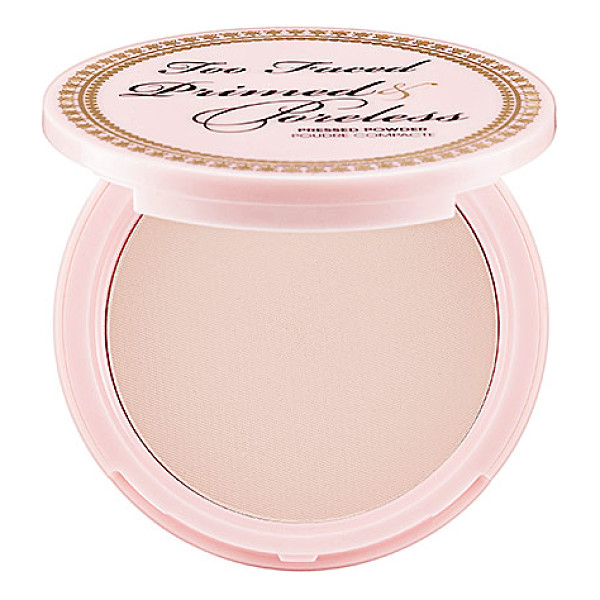 TOO FACED primed & poreless pressed powder 0.35 oz/ 10 g - A pressed powder that turns any foundation into high...