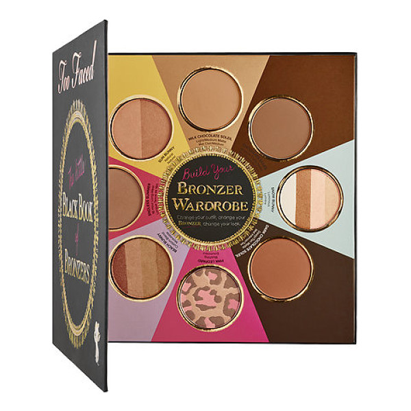 TOO FACED the little black book of bronzers - A collection of Too Faced's eight unique, iconic bronzers...