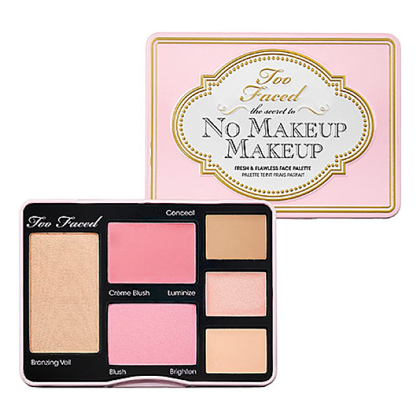 TOO FACED the secret to no makeup makeup - A complete kit to keep you looking naturally flawless on...