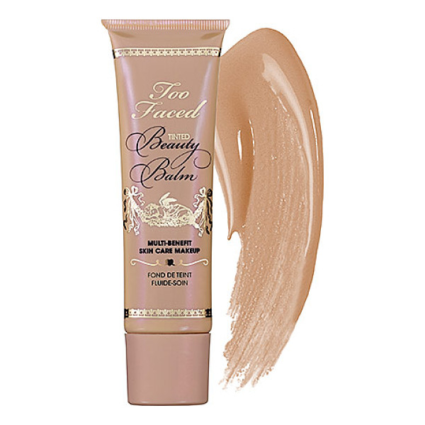TOO FACED tinted beauty balm creme glow - A multibenefit BB cream that tints, primes, nourishes, and...