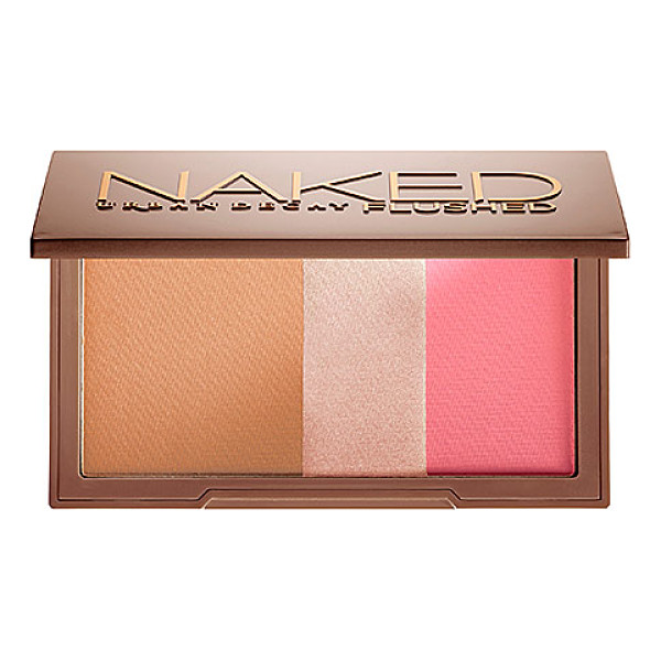 URBAN DECAY naked flushed native 0.49 oz/ 14 g - A silky bronzer, highlighter, and blush in a sleek,...