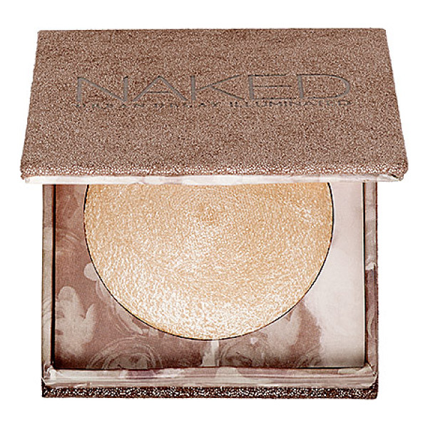 URBAN DECAY Naked Illuminated Shimmering Powder for Face and Body Luminous - A lightweight, baked powder for face and body with a...