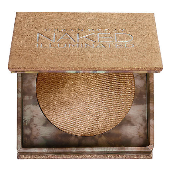 URBAN DECAY Naked Illuminated Shimmering Powder for Face and Body Lit - A lightweight, baked powder for face and body with a...