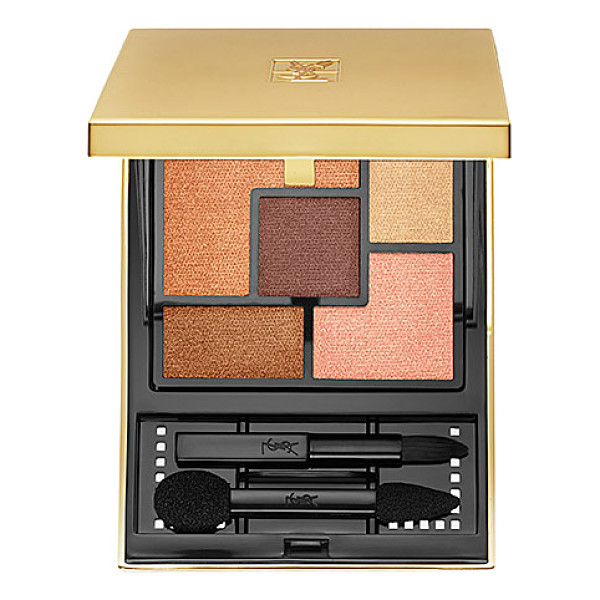 YVES SAINT LAURENT couture palette couleurs 03 - A single color palette with five intense, ready-to-wear...
