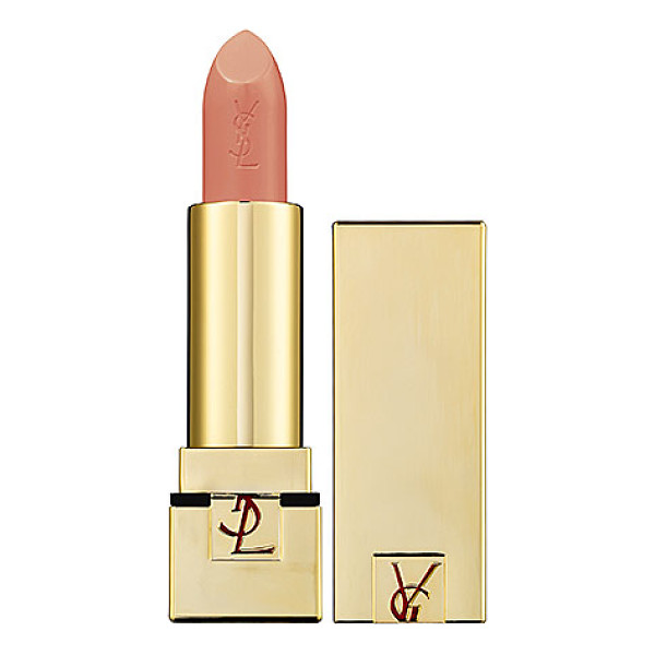 YVES SAINT LAURENT rouge pur couture satin radiance lipstick 24 blond ingenu - A satin lipstick revamped from Yves Saint Laurent's iconic...