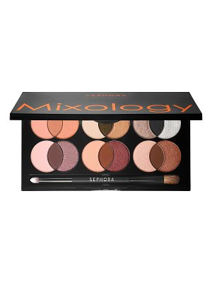 SEPHORA COLLECTION Mixology Eyeshadow Palette Sweet & Warm 12 X