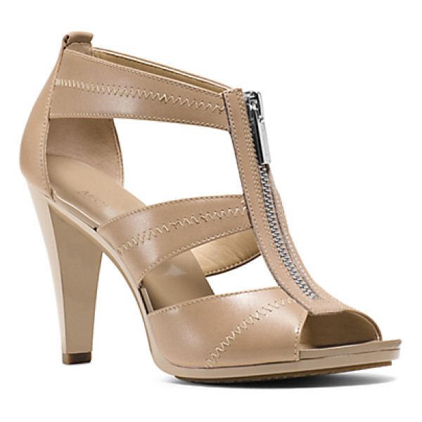 MICHAEL KORS Berkley Leather Sandal - The Key To Step-By-Step Glamour: Our Berkley Pumps. Smooth...