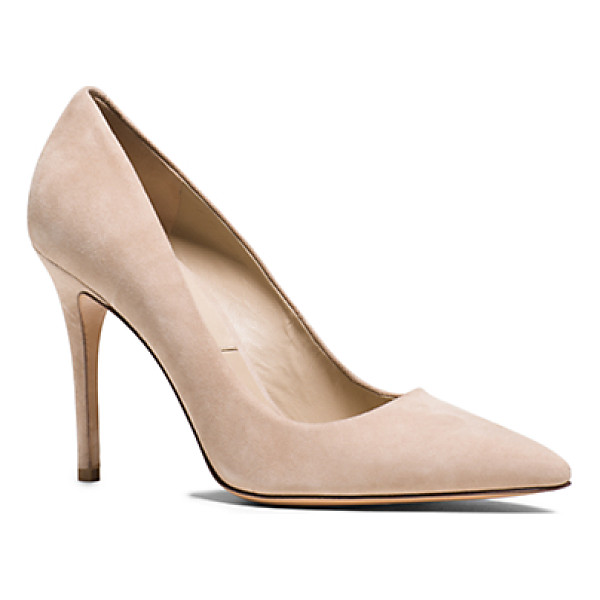 MICHAEL KORS COLLECTION Aarons Suede Pump - Impeccably Crafted From Sumptuous Brushed Suede Our Classic...