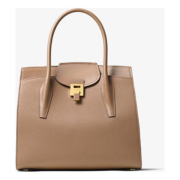 MICHAEL KORS COLLECTION Bancroft Leather Weekender - I Wanted To Design A Bag That Blended The Casual...