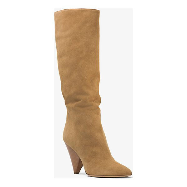 MICHAEL KORS COLLECTION Belinda Suede Boot - Expertly Crafted In Italy From Sumptuous Suede Our Belinda...