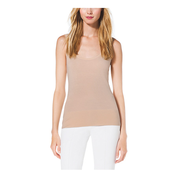 MICHAEL KORS COLLECTION Cashmere Tank Top - Every Well-Edited Wardrobe Requires Luxe Layering Pieces...