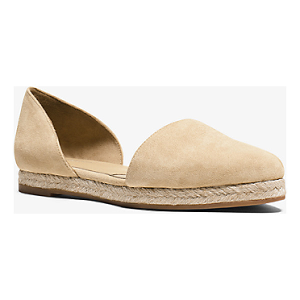 MICHAEL KORS COLLECTION Corey Suede Flat - Exquisitely Crafted From Rich Suede Our Corey Flats Are A...