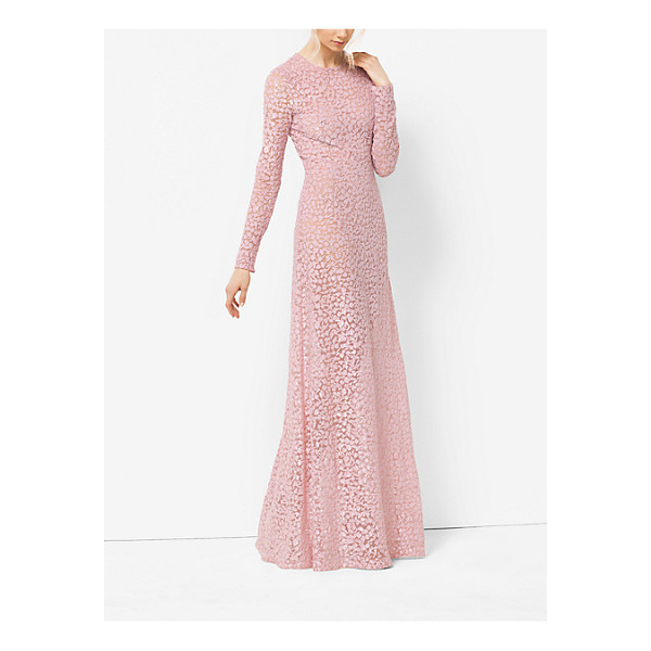 MICHAEL KORS COLLECTION Floral-Embroidered Tulle Gown - I Love The Idea Of Glamorous Embroideries On Pieces That...