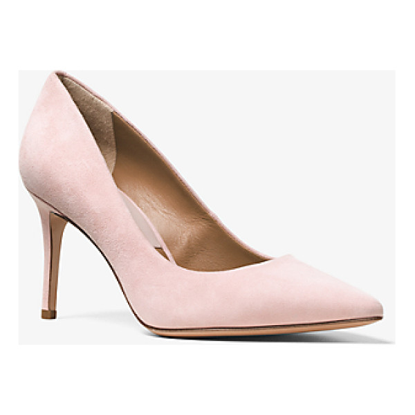MICHAEL KORS COLLECTION Garner Suede Pump - The Garner Pump Is A Luxe Silhouette That Stands The Test...