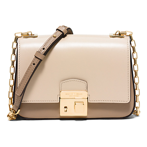 MICHAEL KORS COLLECTION Gia Small Leather Crossbody - The Chic Compact Silhouette Of The Gia Bag Is A Perfect...