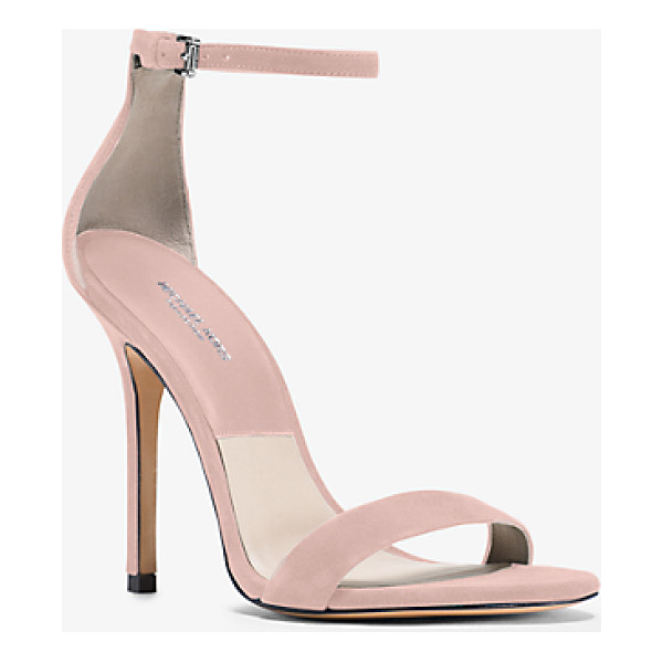 MICHAEL KORS COLLECTION Jacqueline Suede Sandal - Our Jacqueline Sandals Balance Simplicity With...