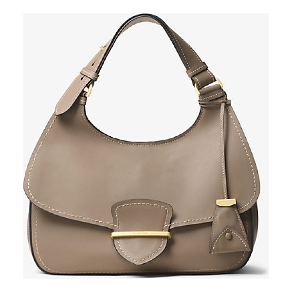 MICHAEL KORS COLLECTION Josie Large French Calf Leather Shoulder Bag - French Calf Leather Craftsmanship And Minimal Hardware...