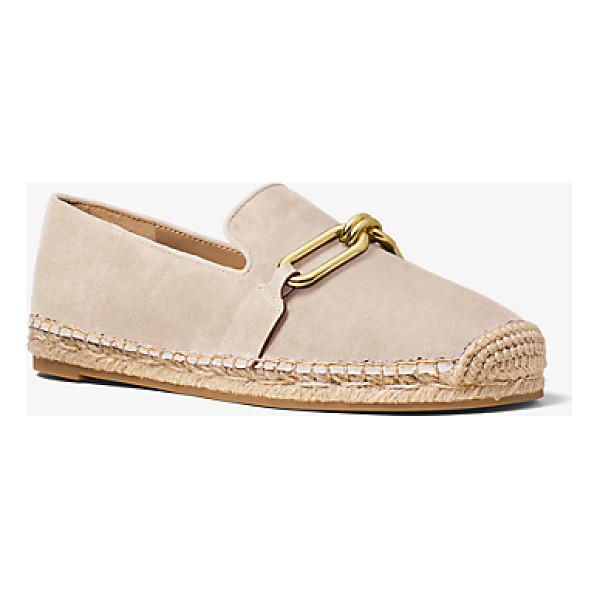 MICHAEL KORS COLLECTION Lennox Suede And Jute Espadrille - An Elevated Take On The Espadrille Our Lennox Flats Are...