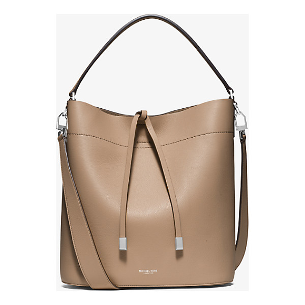 MICHAEL KORS COLLECTION Miranda Large Leather Shoulder Bag - With A Spacious Silhouette Our Large Miranda Shoulder Bag...