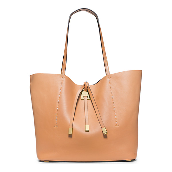 MICHAEL KORS COLLECTION Miranda Large Leather Tote - Meet Miranda Reimagined. We Crafted This Luxurious Shopper...