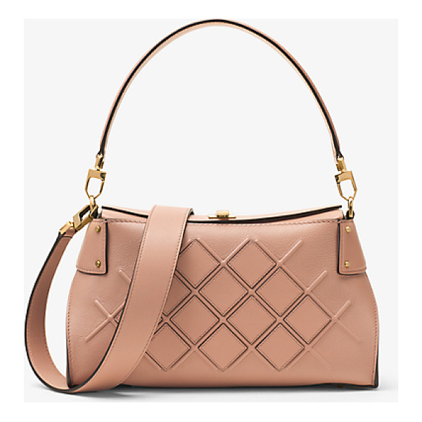 MICHAEL KORS COLLECTION Miranda Medium Quilted Leather Shoulder Bag -