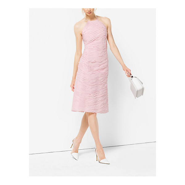 MICHAEL KORS COLLECTION Ribbon-Embroidered Organza Dress - Ribbon Embroidery Lends Rich Texture To This Feminine Dress...