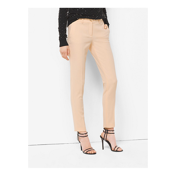 MICHAEL KORS COLLECTION Samantha Wool-Serge Skinny Pants - Michael's Signature Samantha Pants Are A Timeless...