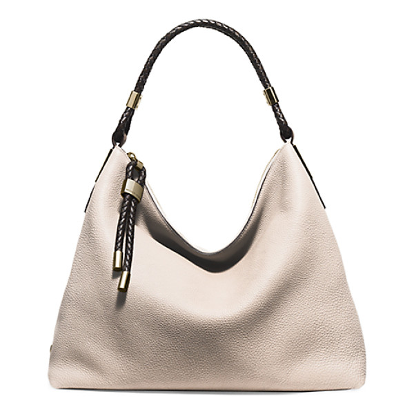 MICHAEL KORS COLLECTION Skorpios Large Leather Shoulder Bag - Our Superbly Chic Skorpios Shoulder Bag Is Crafted From The...