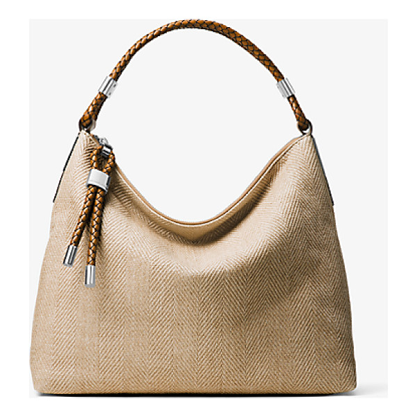 MICHAEL KORS COLLECTION Skorpios Woven Shoulder Bag - Our Superbly Chic Skorpios Shoulder Bag Is Crafted From