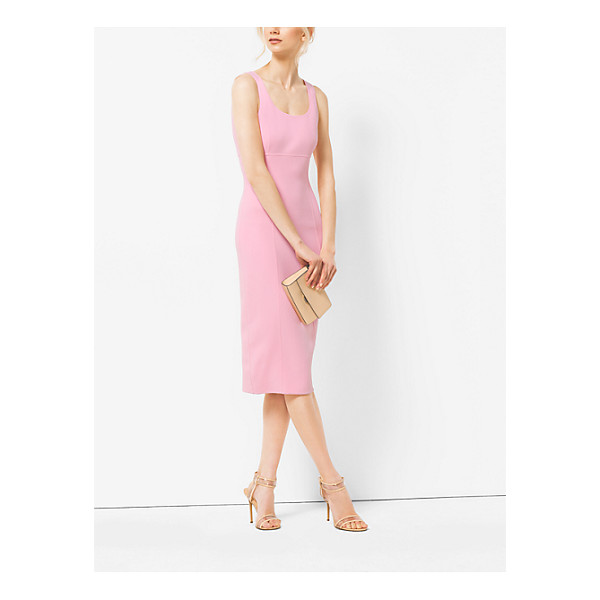 MICHAEL KORS COLLECTION Stretch-Wool Sheath Dress - The Ever-Sophisticated Sheath Dress Is Freshened Up This...