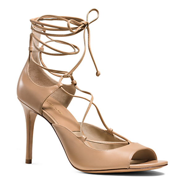 MICHAEL KORS COLLECTION Valerie Leather Sandal - Crafted From The Finest Calfskin Our Valerie Sandals...