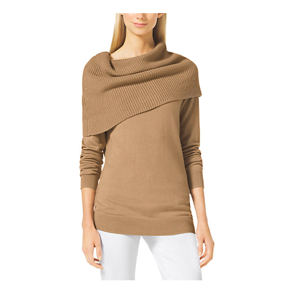 MICHAEL KORS Cowl-Neck Sweater - Enveloped By A Chic Oversized Cowl Neck This Cozy Sweater...