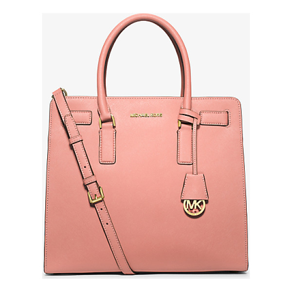 MICHAEL KORS Dillon large saffiano leather satchel - A balance of ladylike and luxe our Dillon satchel showcases...