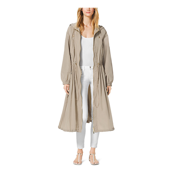 MICHAEL KORS Drawstring Anorak - Stay A Step Ahead Of Unpredictable Between-The-Seasons...