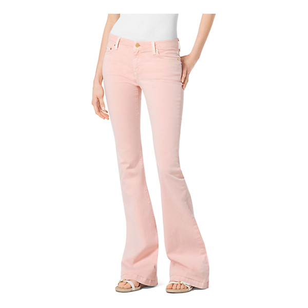 MICHAEL KORS Five-Pocket Flared Jeans - Designed For A Perfect Fit From Premium Stretch-Denim These...