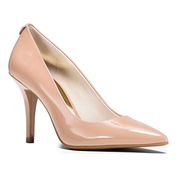 MICHAEL KORS Flex Leather High-Heel Pump - Crafted From Glossy Patent-Leather Our Classic Flex Pumps...